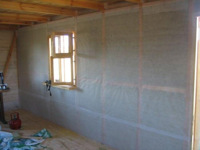 пароизоляция внутренних стен