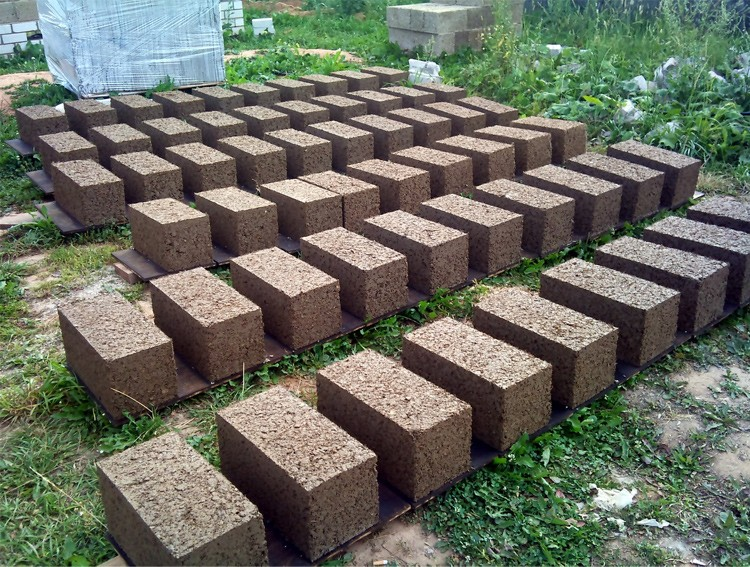 блоки из опилок