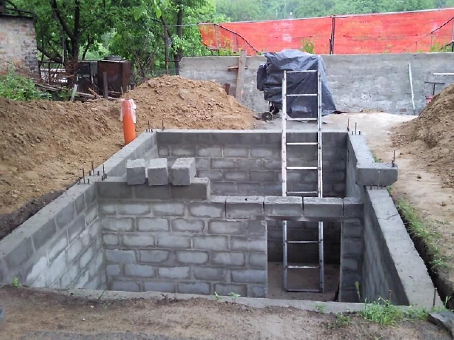 фундамент и подвал