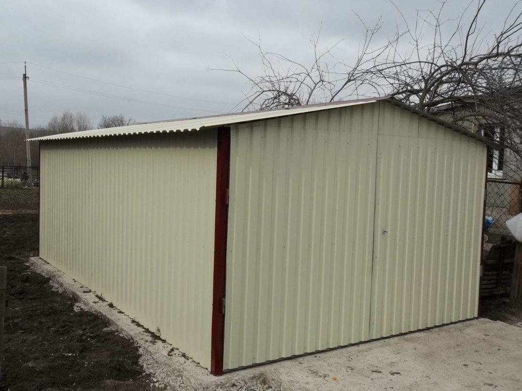 Выбор железного гаража двухэтажный металлический гараж