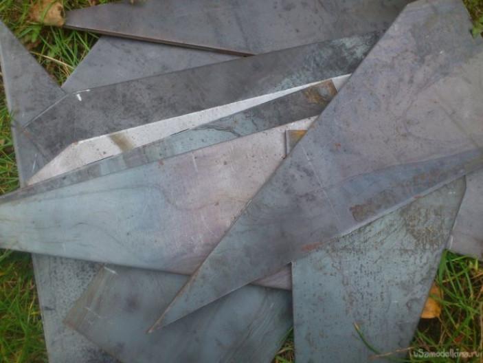 Трубчатые снегозадержатели для металлочерепицы