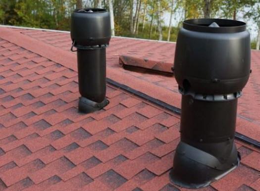 Преимущества вентиляции на утепленных крышах
