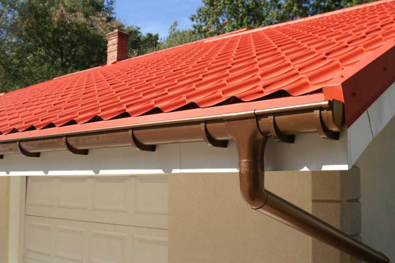 Монтаж конструкции на скатных крышах