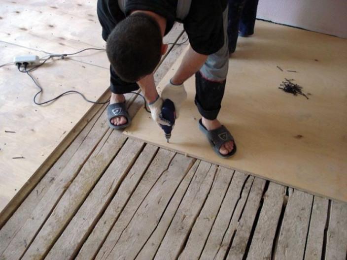 Характерные шаги перед заливкой