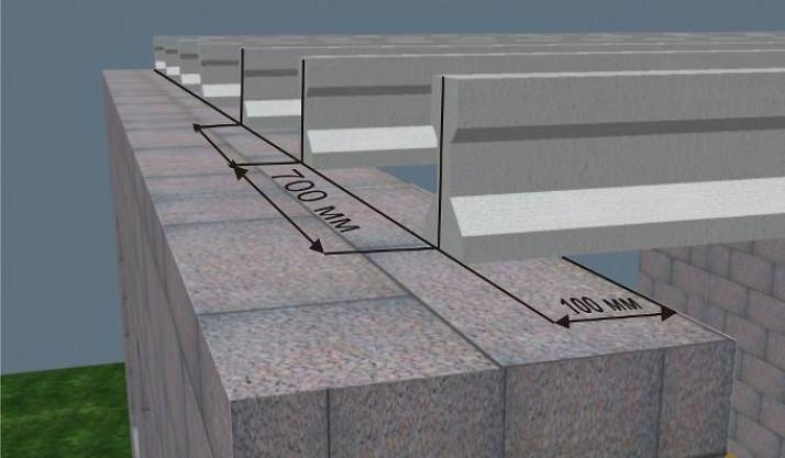 Пример расчета монолитной плиты перекрытия
