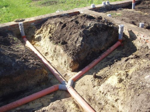 Особенности укладки трубопровода