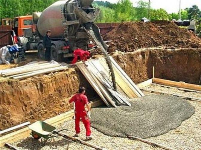 Расчет давления бетона на стенки опалубки
