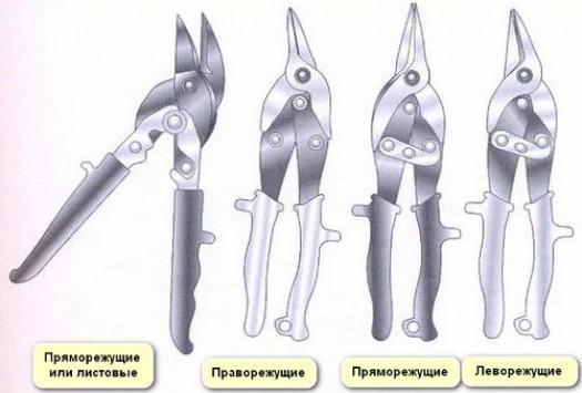 Ручные модели ножниц по металлу и их изготовление