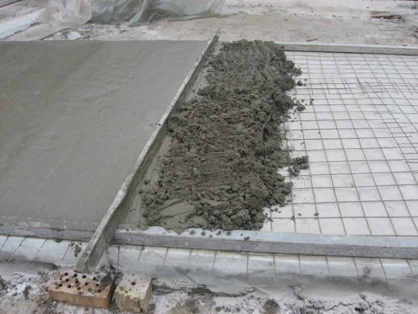 Составные элементы стандартного бетона