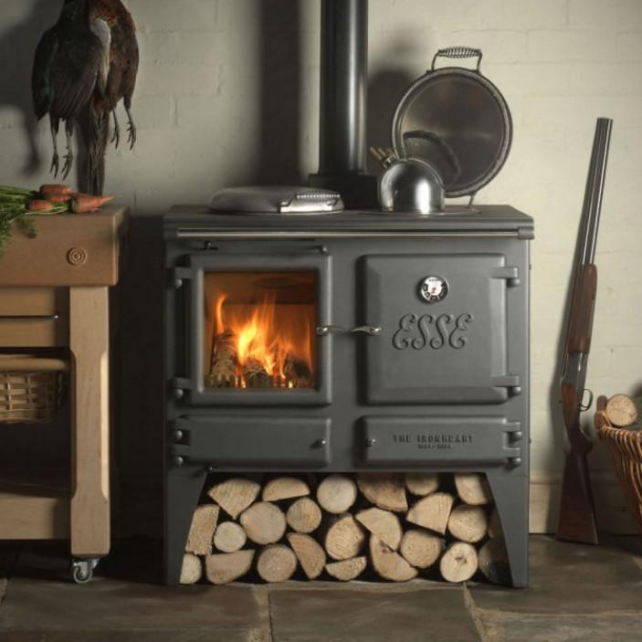 Печное отопление дровами