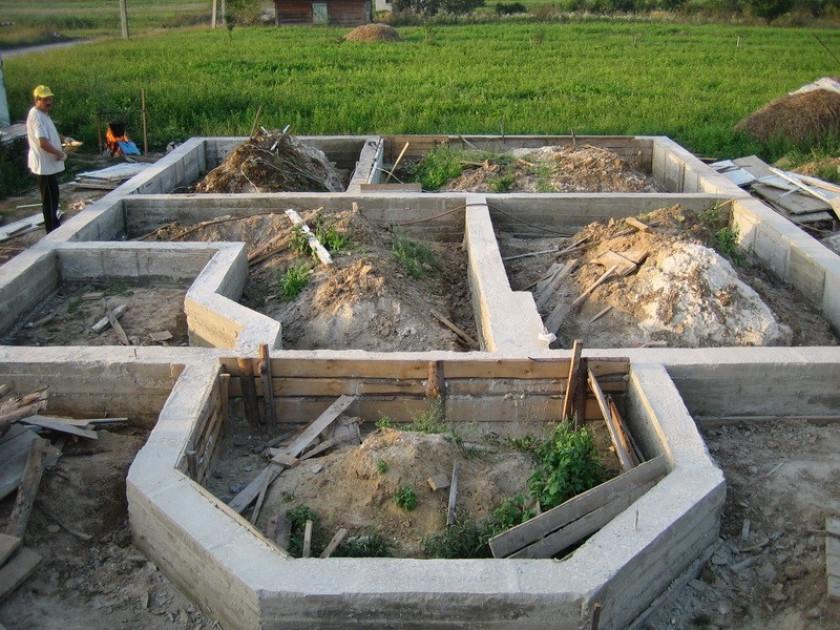 Как вычислить куб бетона для основания свайного типа