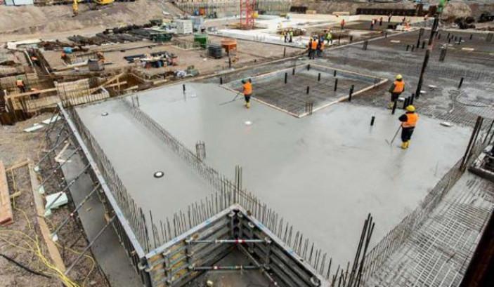Как посчитать куб бетона для заливки пола