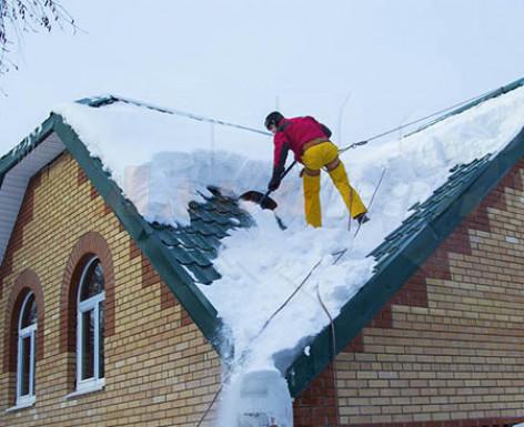 Уголковый снегозадержатель