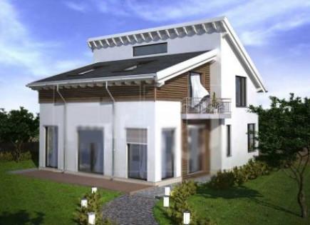 Вычисление угла нестандартной двухскатной крыши
