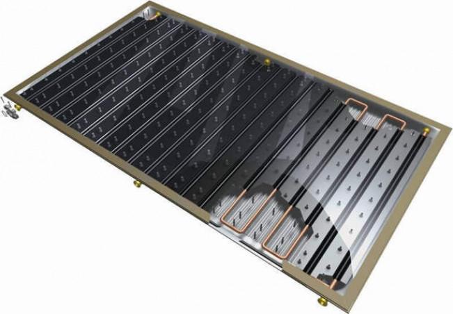 Плоские закрытые солнечные коллекторы
