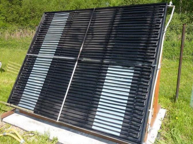 Солнечные коллекторы открытого типа