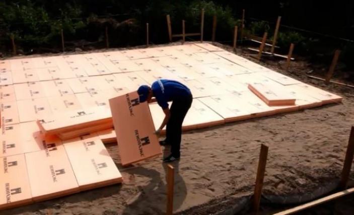Проведение утеплительных мероприятий в процессе строительства