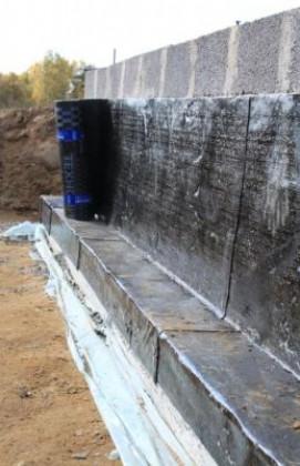 Конструкции тепловой изоляции фундаментов различного типа