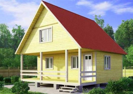 Дом с двускатной крышей: преимущества
