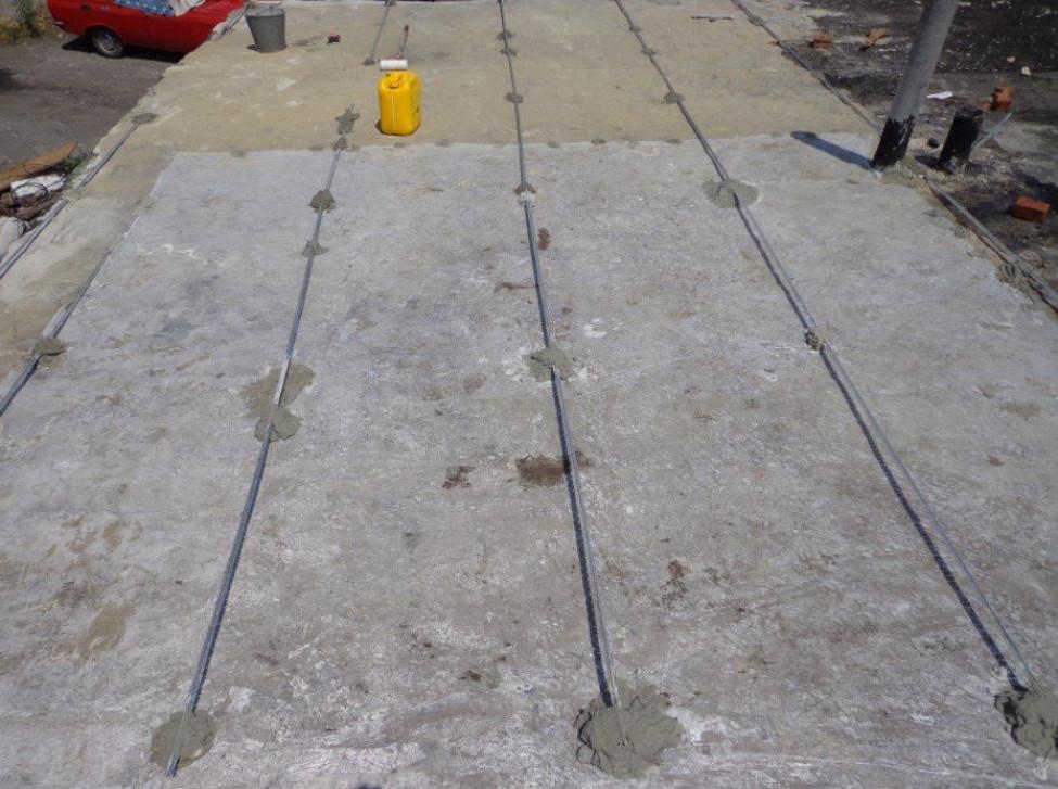 Как сделать простую стяжку на крыше гаража – подробная инструкция