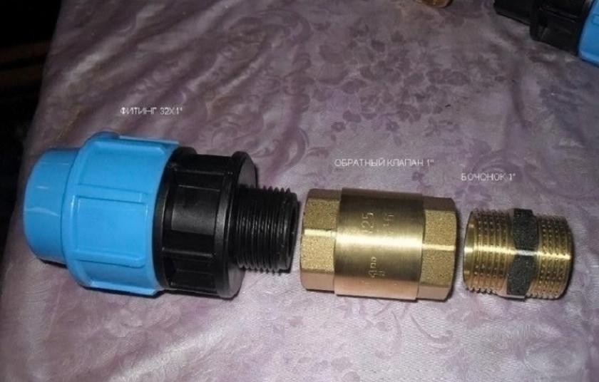 Обратные клапаны для погружных насосов