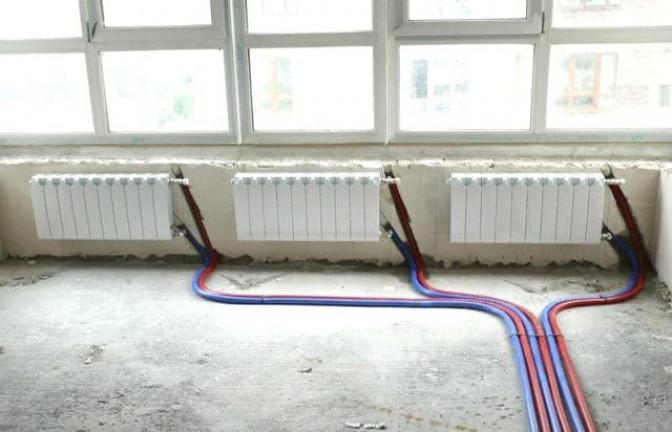 Схемы отопления по способы разводки