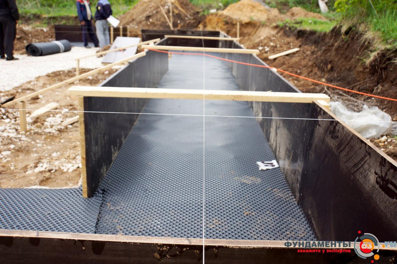 Гидроизоляция подошвы фундамента. Какие виды гидроизоляции применяются для защиты фундамента