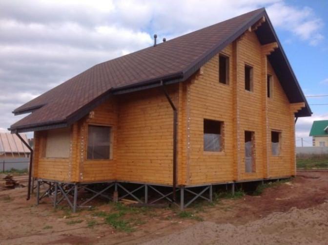 Строительство домов на винтовых сваях – общая информация
