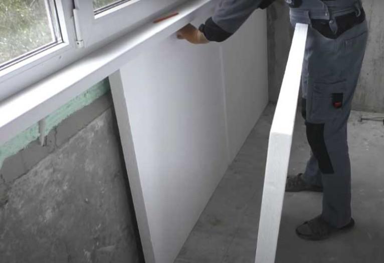 Как утеплить балкон пенопластом своими руками