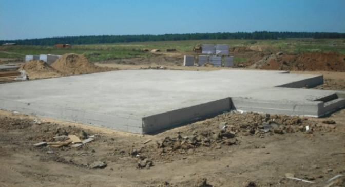Как рассчитывается бетонная плита на фундамент?