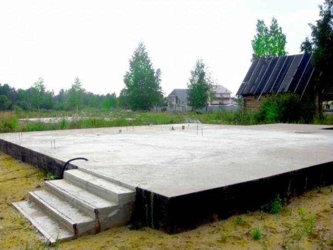 Разновидности фундаментной плиты и применение фундамента