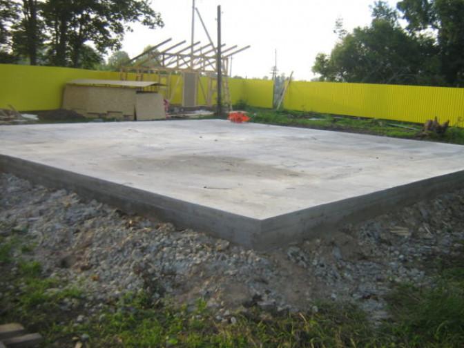 Делаем плиту для дома – обустраиваем фундамент