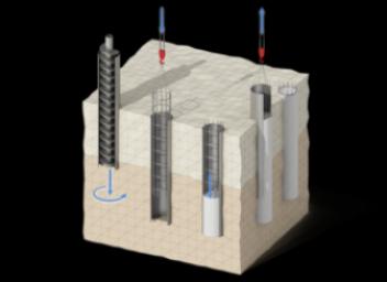Особенности и устройство буронабивного фундамента