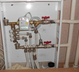 Установка теплового счётчика на отопление в многоквартирном доме