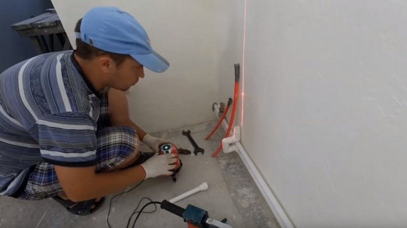 Процедура подключения теплого пола от радиатора