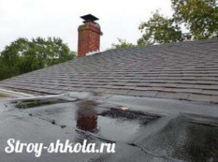 Технология покрытия крыши гаража рулонными материалами