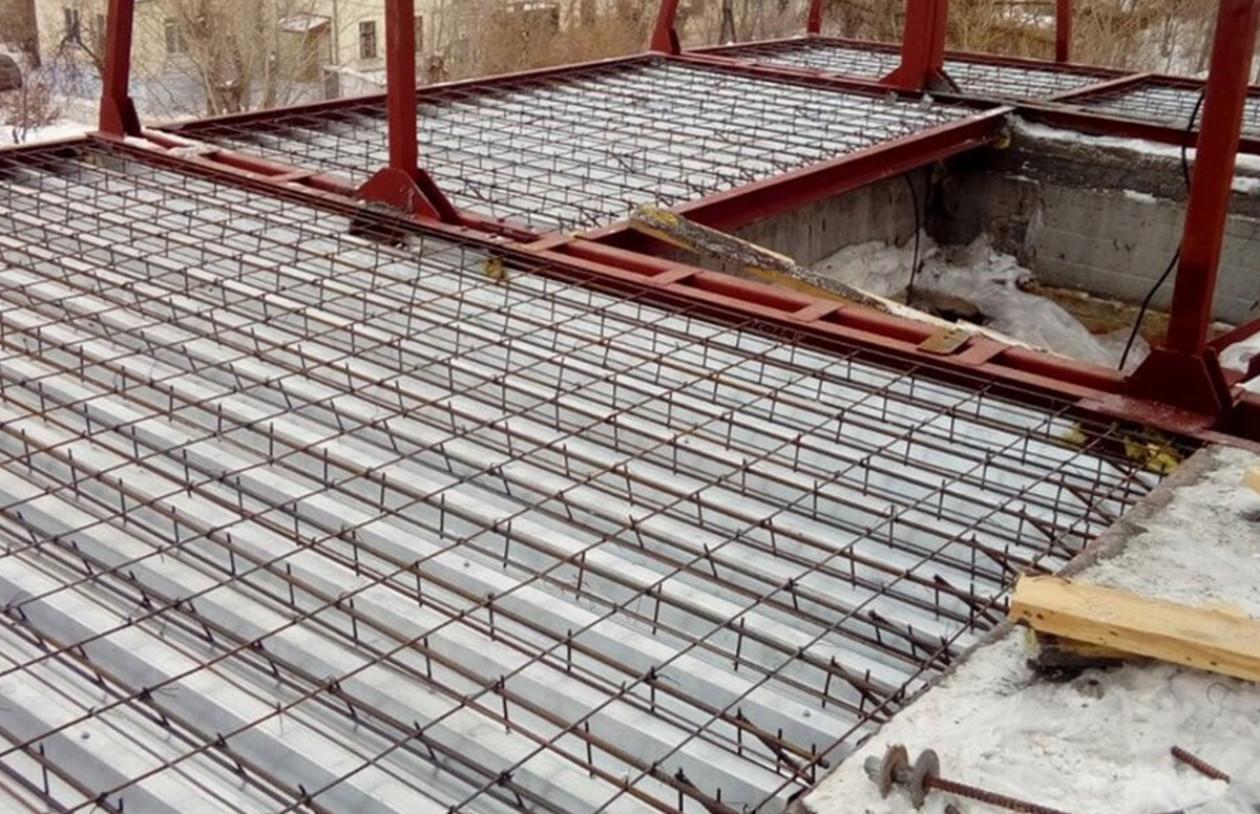 Монолитное бетонное перекрытие – что за конструкция