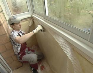 Обмазочная гидроизоляция балкона