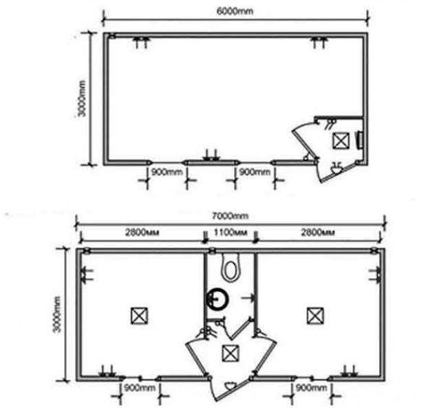 Проект и чертежи вагончика