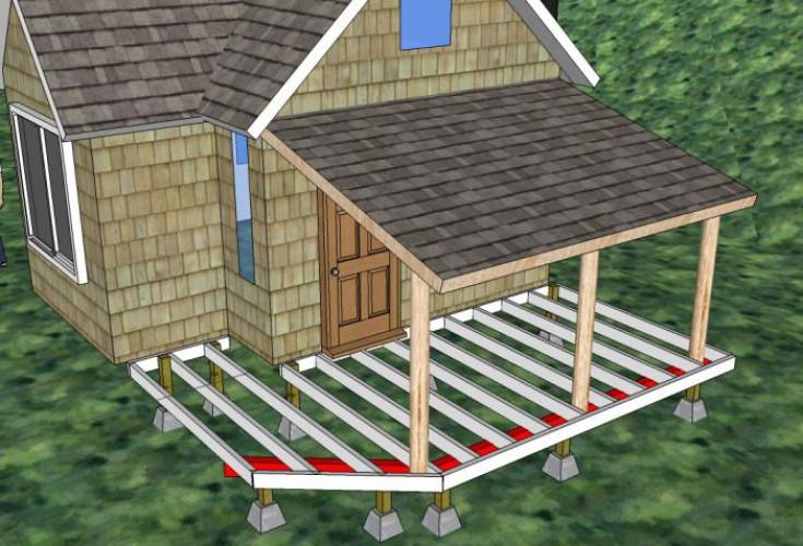 Определение размеров сооружения, подготовка территории