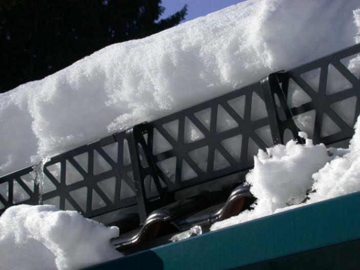 Какие бывают снегозадержатели