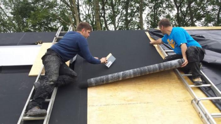 Гидроизоляция крыши: как правильно сделать