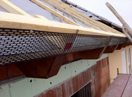 Подготовка крыши под битумную черепицу