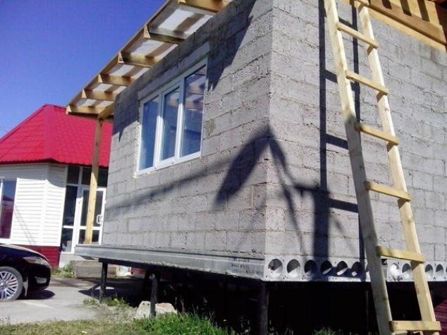 Винтовые сваи: опорное основание для дома из блоков