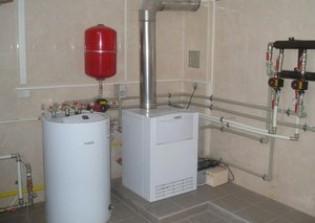 Газовый котел в частном доме: требования и установка