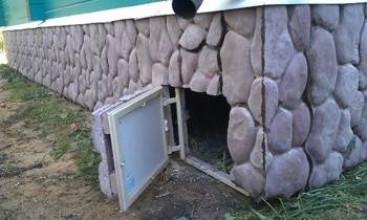 Чем и как закрыть цоколь дома со свайно-винтовым фундаментом