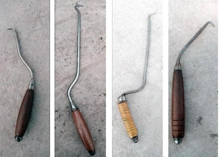 Инструменты для вязки арматурных прутьев