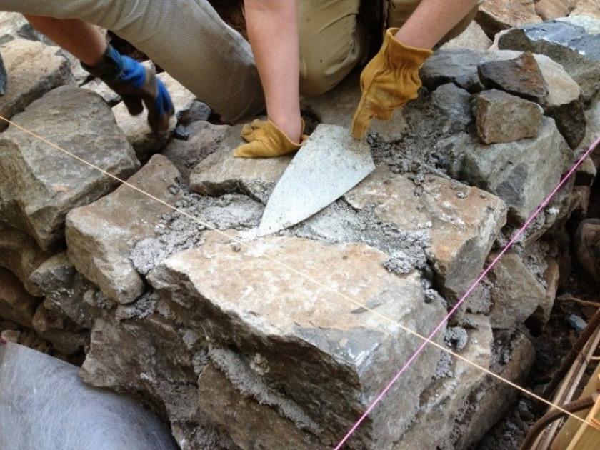 Основы кладки фундамента из бутового камня