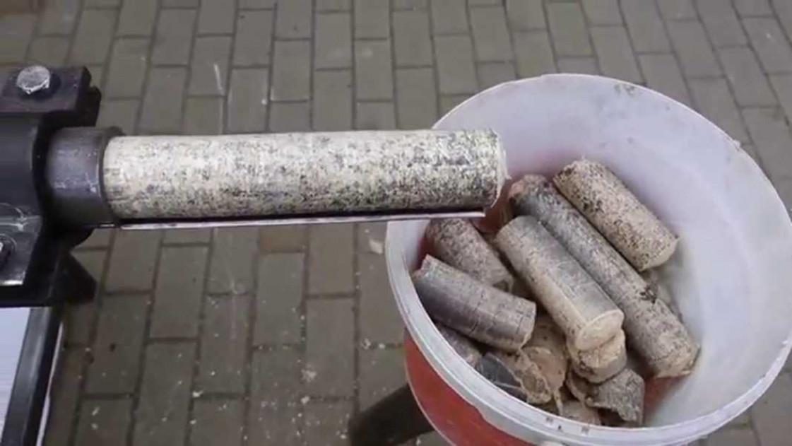 Прессы для изготовления брикетов из опилок