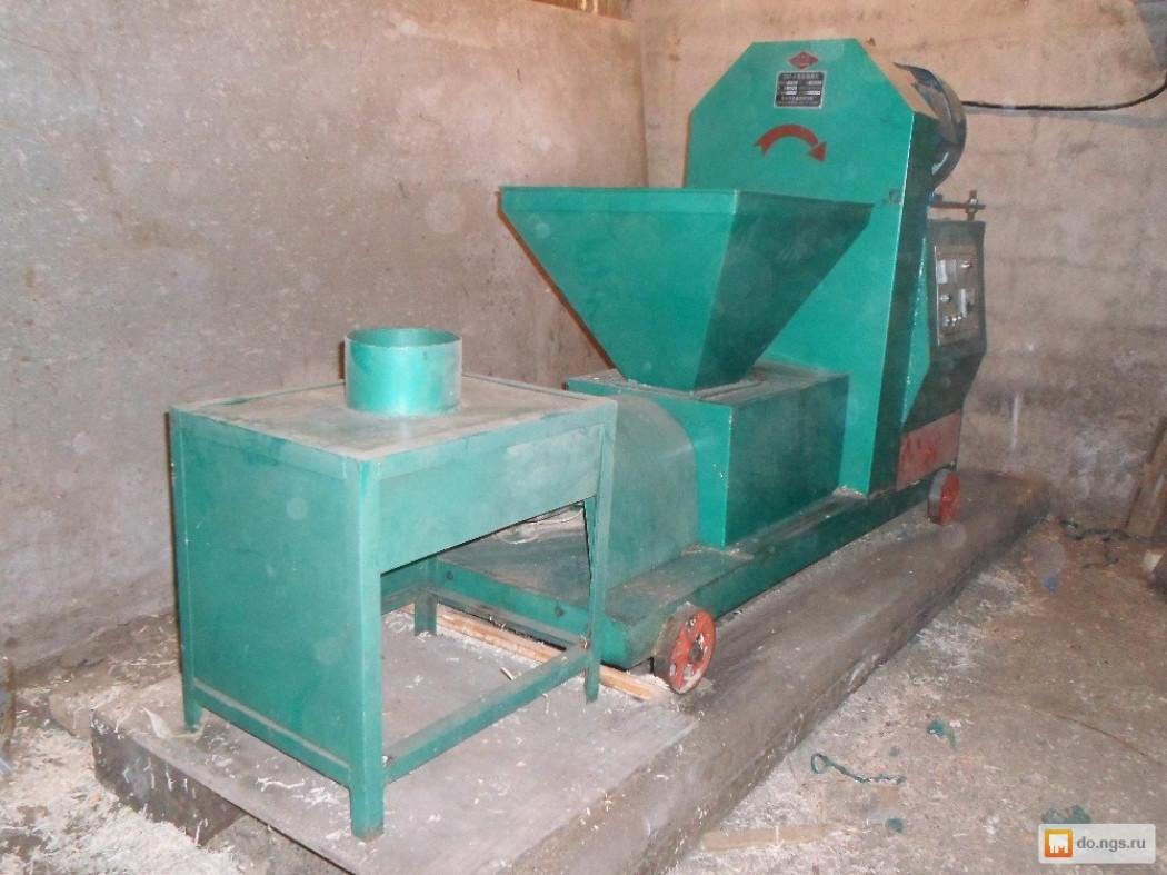 Производство топливных брикетов из опилок | Бизнес производство